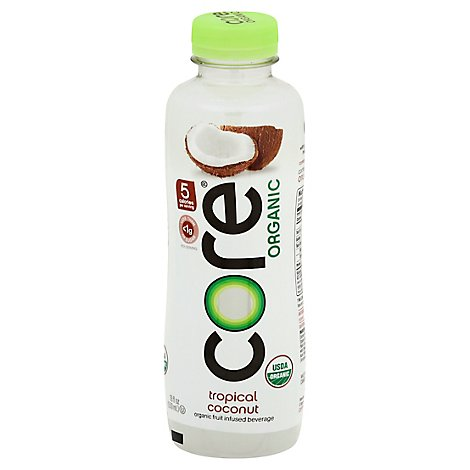 CORE Organic Beverage Tropical Coconut - 18 Fl. Oz.
