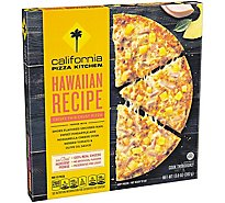 California Pizza Kitchen Pizza Crispy Thin Crust Hawaiian Frozen - 13.8 Oz
