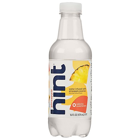 hint Water Infused With Pineapple - 16 Fl. Oz.