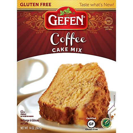 Gefen  Mix Gf Cake Coffee Crmb - 14  Oz