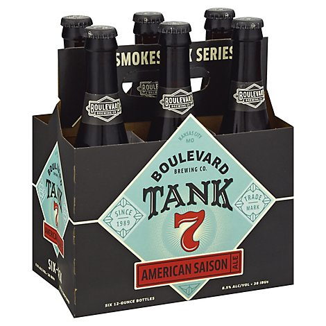 Boulevard Tank 7 Farmhouse Ale In Bottles - 6-12 Fl. Oz.