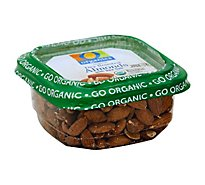 O Organics Almonds Roasted & Salted - 7.25 Oz