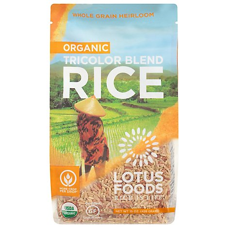 Lotus Foods Rice Organic Volcano - 15 Oz