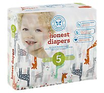The Honest Company Diapers Giraffes 5xl - 25 Piece