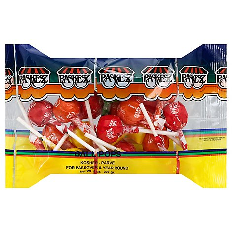 Paskesz Lollipops Assorted Passover - 8  Oz