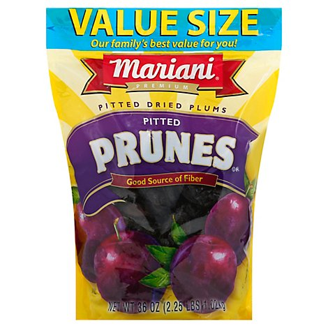 Mariani Pitted Prunes - 36 Oz
