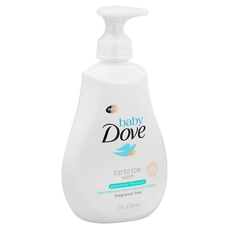 Dove Baby Tip To Toe Wash Sensitive Moisture - 13 Fl. Oz.