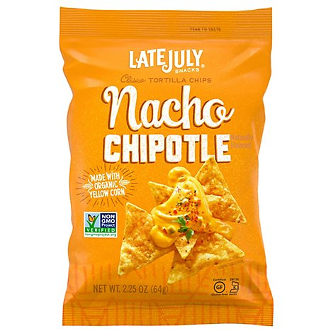 Late July Nacho Chipotle Clasico Tortilla Chips - 2.25 Oz