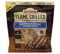Johnsonville Flame Grilled Chicken Breast Black Pepper & Sea Salt - 3 Count