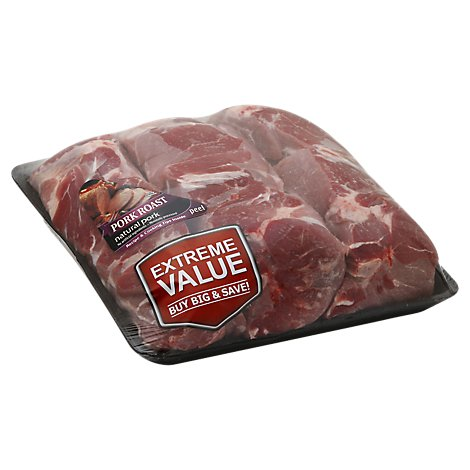 Meat Counter Pork Loin Sirloin Roast Boneless Vac Pac - 14.50 LB