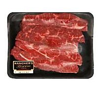 Meat Counter Beef USDA Choice Chuck Flanken Style Ribs With Kalibi Marinade - 1.50 LB