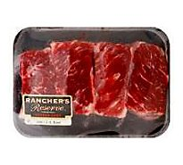 Meat Counter Beef USDA Choice Chuck Short Ribs With Kalibi Marinade - 3.50 LB