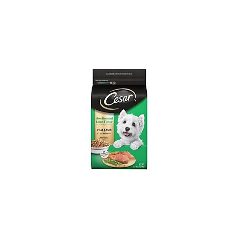 Cesar Food for Dogs Gourmet Slow Roasted Lamb Flavor Bag - 5 Lb