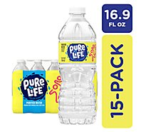 Nestle Pure Life Purified Water - 15-16.9 Fl. Oz.