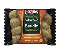 Richards All Natural Boudin - 12 Oz
