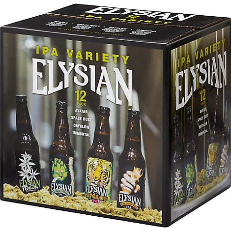 Elysian Ipa Variety Pack In Bottles - 12-12 Fl. Oz.
