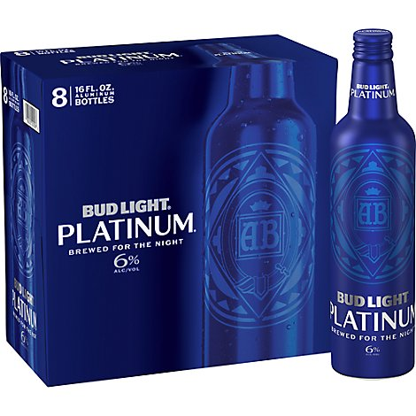 Bud Light Platinum Alum In Bottles - 8-16 Fl. Oz.