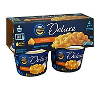 Kraft Macaroni & Cheese Dinner Deluxe Original Cup - 4-2.39 Oz
