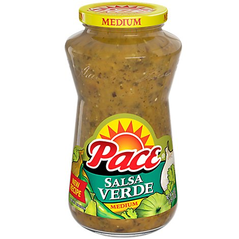 Pace Salsa Verde Medium Jar - 16 Oz