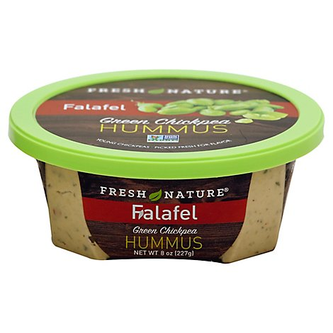 Fresh Nature Hummus Falafel Green Chickpea - 8 Oz