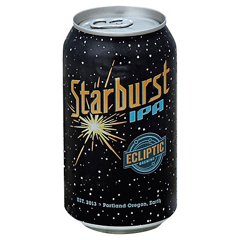 Ecliptic Starburst Ipa In Cans - 6-12 Fl. Oz.