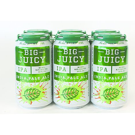 No Li Big Juicy Ipa - 6-12 Fl. Oz.