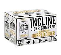 Incline Cider Company The Explorer Hopped Cider In Cans - 6-12 Fl. Oz.