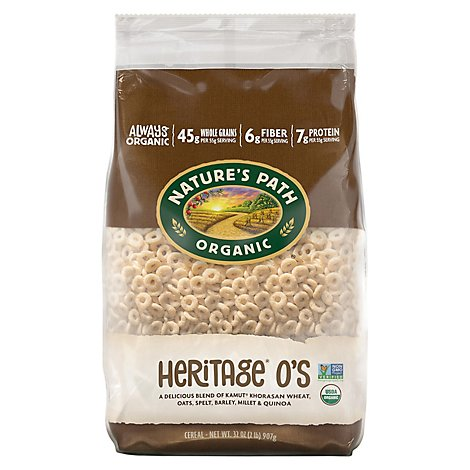 Natures Path Organic Cereal ECO PAC Heritage Os - 32 Oz