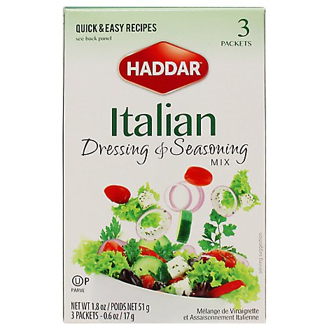 Haddar Dressing & Seasoning Mix - 1.8 Oz