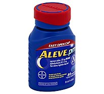 Aleve PM Naproxen Sodium Tablets 220mg Pain Reliever/Nighttime Sleep-Aid - 80 Count