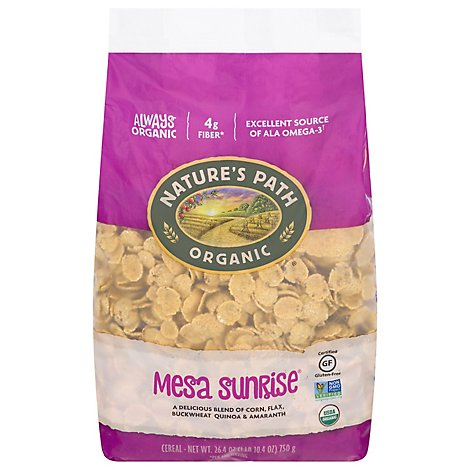 Natures Path Organic Cereal ECO PAC Gluten Free Mesa Sunrise - 26.4 Oz