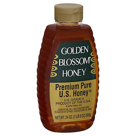 Golden Blossom Honey - 24 Oz