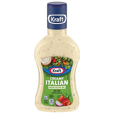 Kraft Dressing With Extra Virgin Olive Oil Creamy Italian - 14 Fl. Oz.