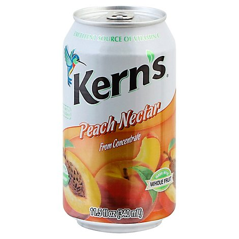 Kerns Peach Nectar - 11.5 Fl. Oz.