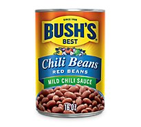 BUSHS BEST Beans Chili Red Beans in Chili Sauce Mild - 16 Oz