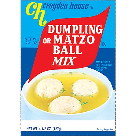 Croyden House Dumpling Or Matzo Ball Mix - 4.5 Oz