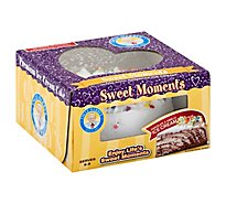 Cake Ice Cream 6 Inch Chocolate & Vanilla - 26 Oz
