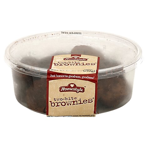 Bakery Brownies Tub Two Bite - Each