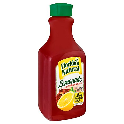 Floridas Natural Lemonade with Pomegranate Chilled - 59 Fl. Oz.