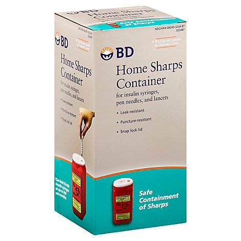Bd Home Sharps Container - Each