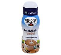 Organic Valley French Vanilla Half & Half - 16 Fl. Oz.