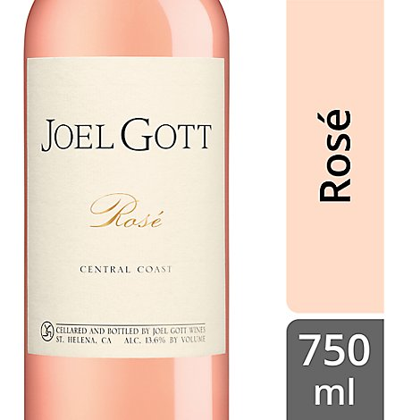 Joel Gott Wine Rose Grenache Central Coast 2016 - 750 Ml