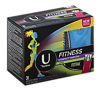 Kotex Fitness Tampon Spr - 31 Count