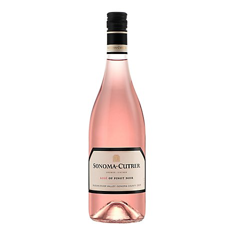 Sonoma-Cutrer Wine Rose Of Pinot Noir 2019 23.8 Proof - 750 Ml