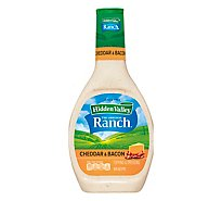 Hidden Valley Original Ranch Dressing Cheddar & Bacon - 16 Fl. Oz.