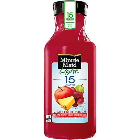 Minute Maid Light Juice Fruit Punch - 52 Fl. Oz.