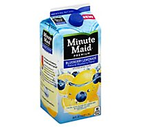 Minute Maid Juice Blueberry Lemonade Carton - 59 Fl. Oz.