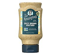Sir Kensingtons Mustard Spicy Brown - 9 Oz
