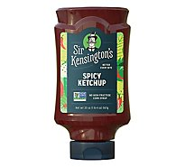 Sir Kensingtons Ketchup with Jalapeno Heat Spicy - 20 Oz