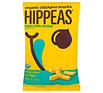 Hippeas Chickpea Puff Wh Cheddar - 4 Oz